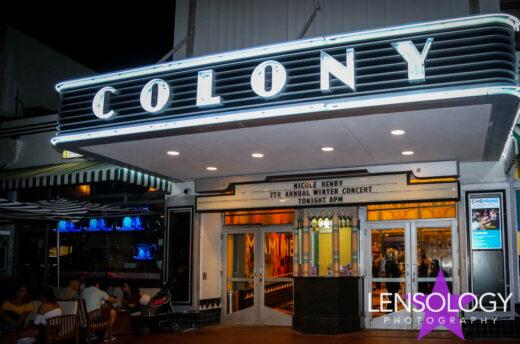 Nicole Henry Christmas Concert, Colony Theater, Miami, FL